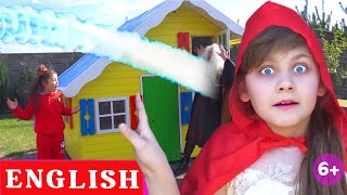 New house of Red Riding Hood | Modern English Fairy Tales