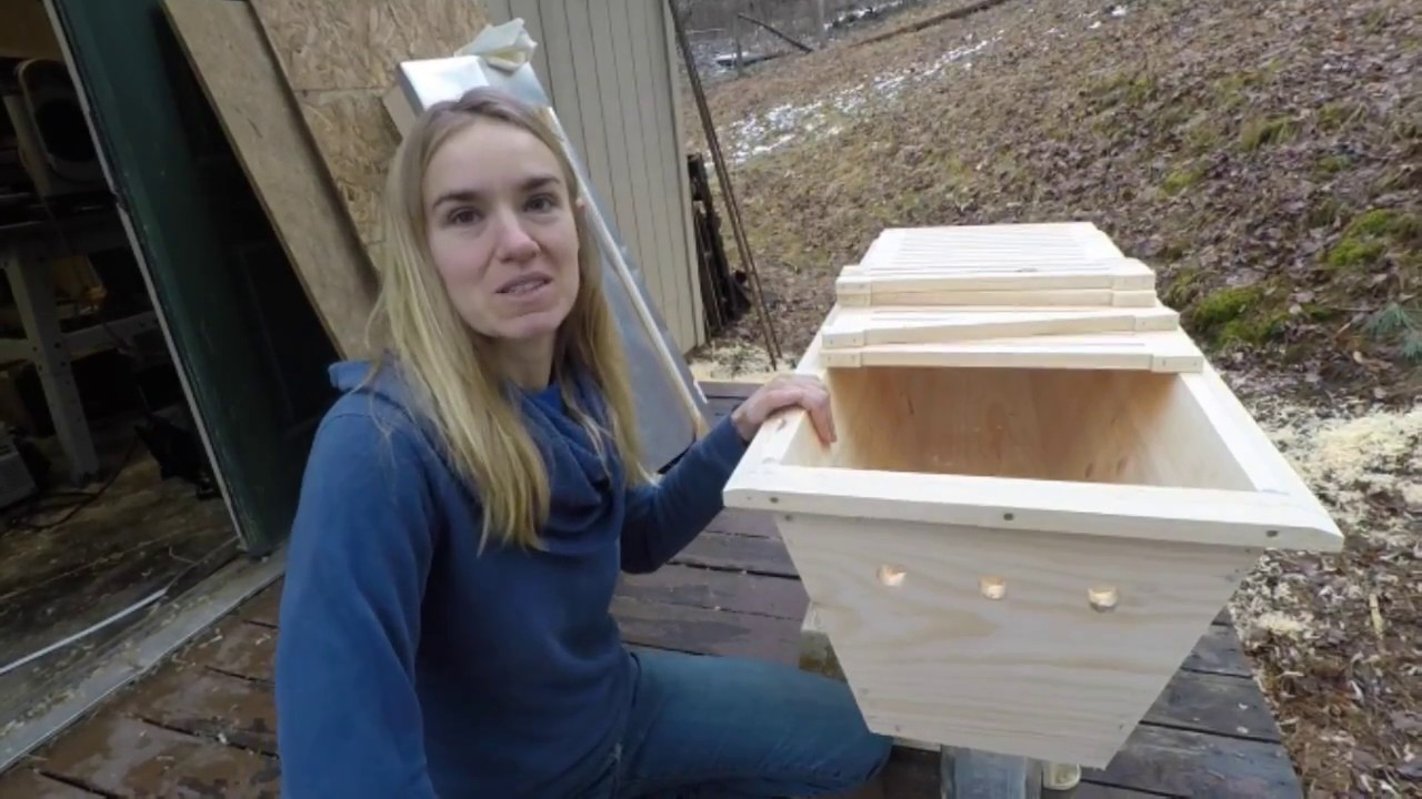 DIY! New and Improved Top Bar Hive! part 1 Introduction ...