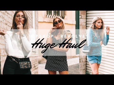Mega Haul & Try On | Topshop, Other Stories, Revolve | Sinead Crowe