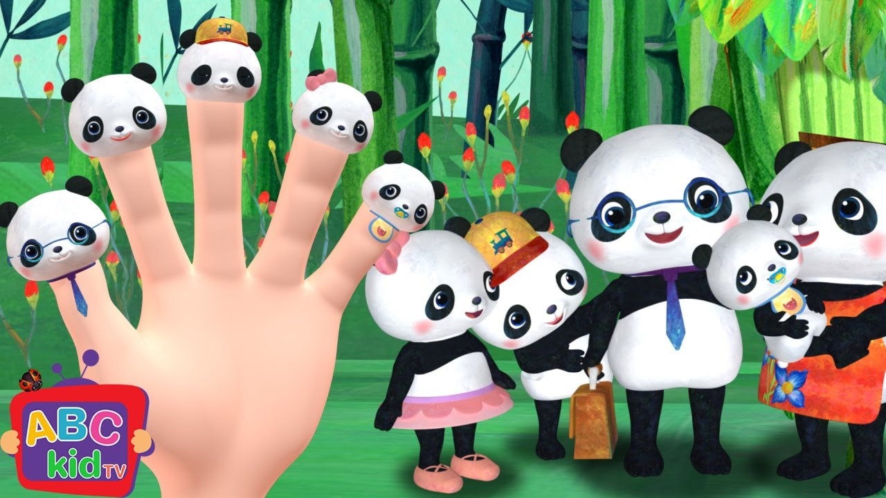 Finger Family (Panda Version) | CoComelon Nursery Rhymes & Kids Songs
