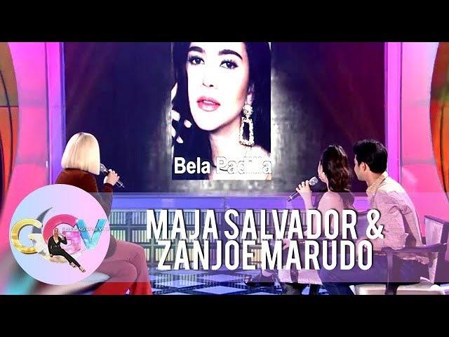 GGV: Zanjoe Marudo asks Bela Padilla in Tanong Mo, Muka Mo!
