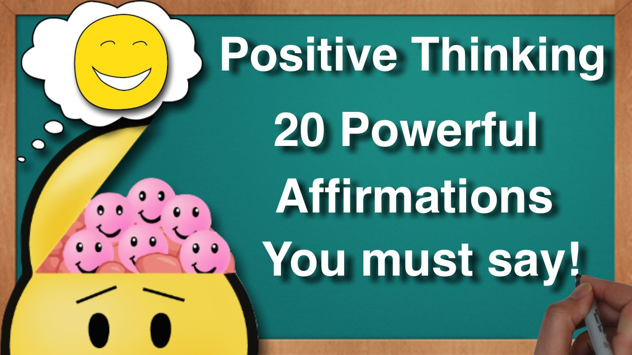 Affirmations for Positive Thinking - YouTube