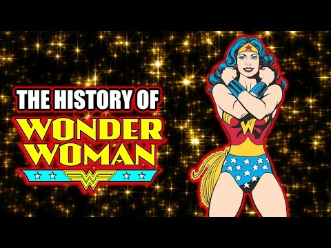 The History of Wonder Woman - Superhero Spotlight