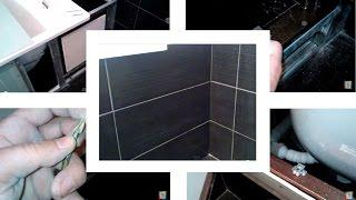 Ревизионный люк в ванной. Установка и укладка плитки. / Inspection door in the bathroom(, 2015-06-13T19:36:02.000Z)