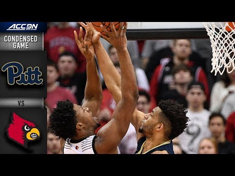 Louisville Vs. Pittsburgh Condensed Game | 2018-19 ACC Basketball