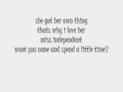 Ne-Yo - Miss Independent - With Lyrics