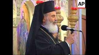 Leader of Greece's Orthodox Church, Archbishop Christodoulos, dies
