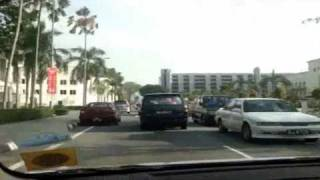 Driving around Bandar Seri Begawan, Brunei
