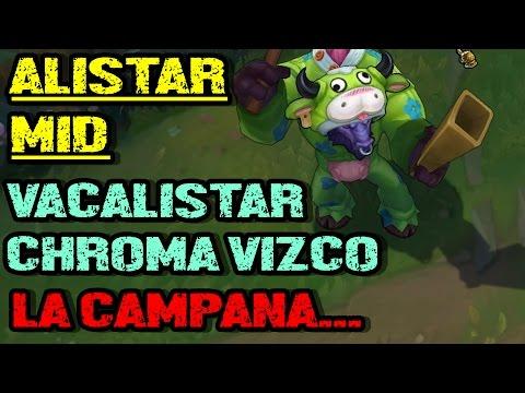 ... ALISTAR MID | LA MEJOR PARTIDA DE LOL | FULL CRITICOS 17 KILLS!!  HUMILLANDO YASUOS! eldelabarrapan