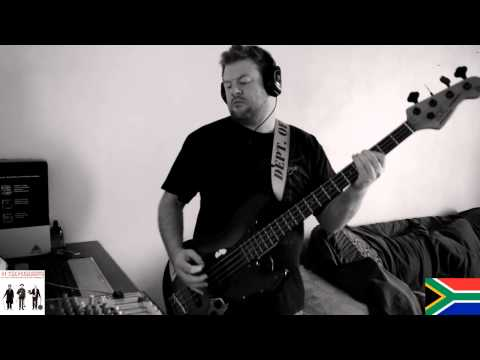 Presidents of the United States  - kill the radio star bass cover by jacques van zijl