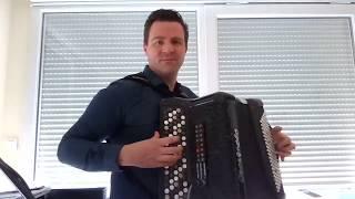 Pierre-Alain Krummenacher interprète une polka : Fleur du Jura (M. Geney & G.Hofstetter)