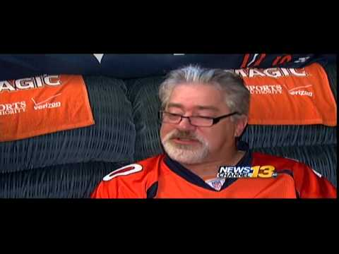 Colorado Springs couple turns home into Broncos Fan Cave.