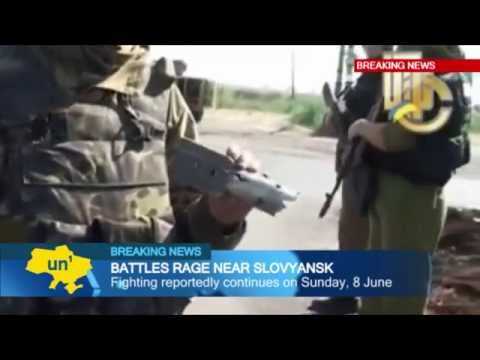 Ukrainian army combat footage: video released of Slovyansk clashes with Kremlin-backed insurgents
