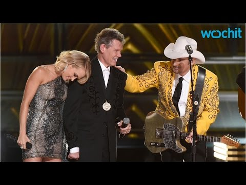 Randy Travis Gives Tear-Jerking Performance At CMA Awards