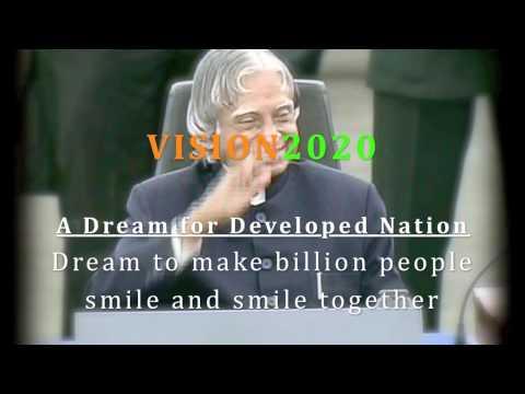 APJ Abdul Kalam Vision 2020 Billion Beats