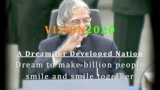 APJ Abdul Kalam Vision 2020 Billion Beats