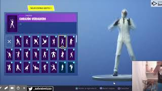 wildcard dancing all the gestures of Fortnite - 92 dances - YouTube
