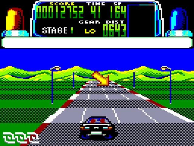 Jouez à Chase HQ sur Amstrad CPC avec nos Bartops Arcade et Consoles Retrogaming