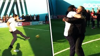 Ant Middleton's Roberto Carlos-esque Free-Kick ⚡😱| Soccer AM Pro AM