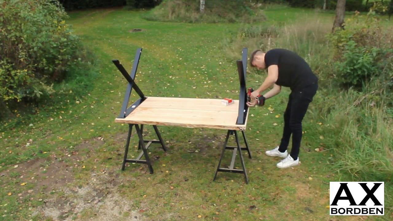 AX-bordben: Lav dit eget plankebord - YouTube