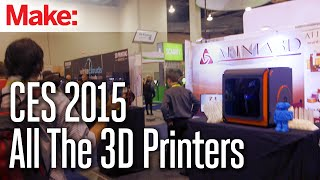 CES 2015: All The 3D Printers