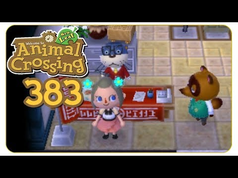 Neue Hausbewertung #383 Animal Crossing: New Leaf - welcome amiibo - Let's Play