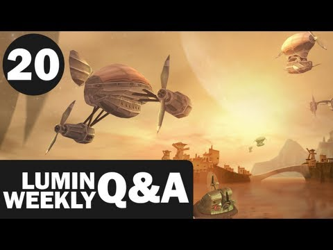 Lumin Weekly Q&A #20 - Guild Forum, Amnesia, Favorite Books & Authors & More!