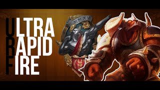 Ultra Rapid Fire | Dont mess with the BULL | League of Legends