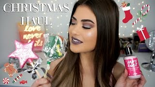 CHRISTMAS LUSH HAUL 2016 - Holiday Gift Ideas!