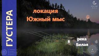 Русская рыбалка 4 река Белая Зачетная густера на краю острова