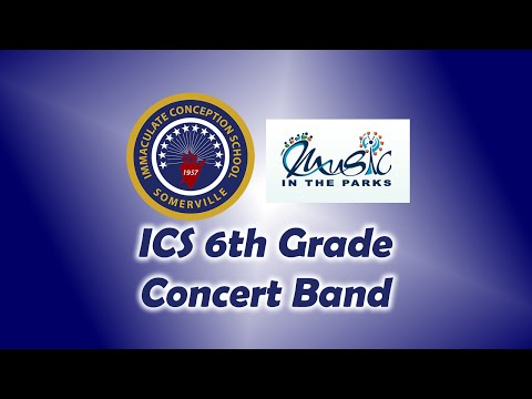 ICS 6th Grade Concert Band - Music In The Parks 2015