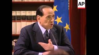 Berlusconi presser, analyst on Berlusconi