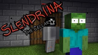 Monster School SCARY SLENDRINA THE CELLAR CHALLENGE Minecraft Animation