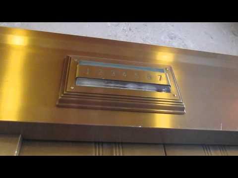 (2016 Take) Vintage Otis Traction Elevators @ US Bank Building in Colorado Springs, CO