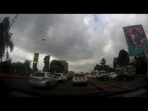 From Ridgeways mall to the tunnel at Thika road Kiambu road junction