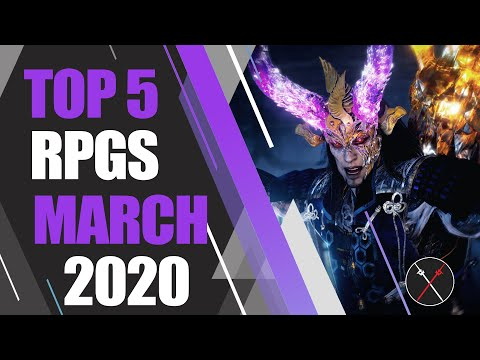 Top 5 NEW RPGs Of MARCH 2020