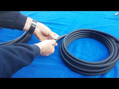 QWASHERS EBAY YOUTUBE KEW ALTO NILFISK EXTENSION HOSE 10,15,20, METER RUBBER 1 WIRE