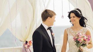 Выездная церемония в релакс-центре Ирей ☆декор свадьбы в Крыму☆(Красивая, нежная, лёгкая свадьба Валеры и Катюши