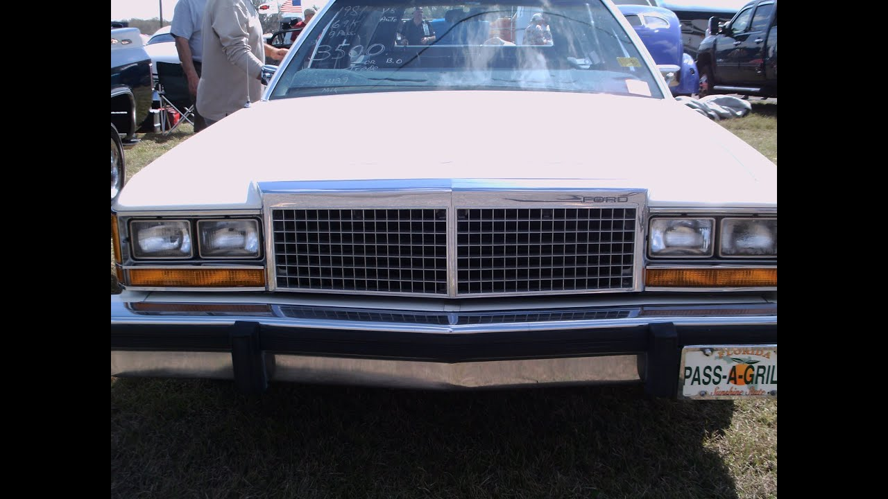 1981 Ford Ltd Stationwagon Wht Zh022412 Youtube 1980 Crown Victoria Coupe