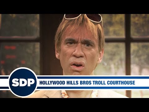 Hollywood Hills Bros Troll Courthouse | The Steve Dangle Podcast