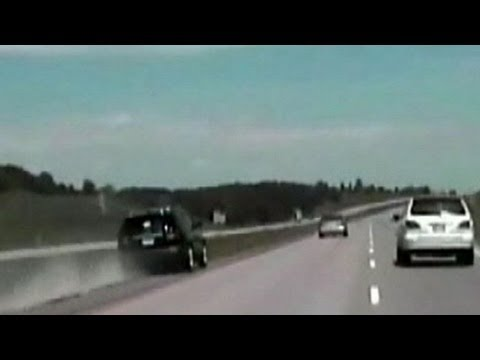 Woman's Car Speeds Out of Control at 110 MPH on Highwayl After Gas Pedal Stuck