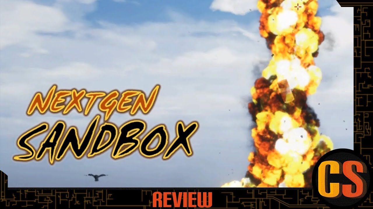 NEXTGEN SANDBOX - PS4 REVIEW (Video Game Video Review)