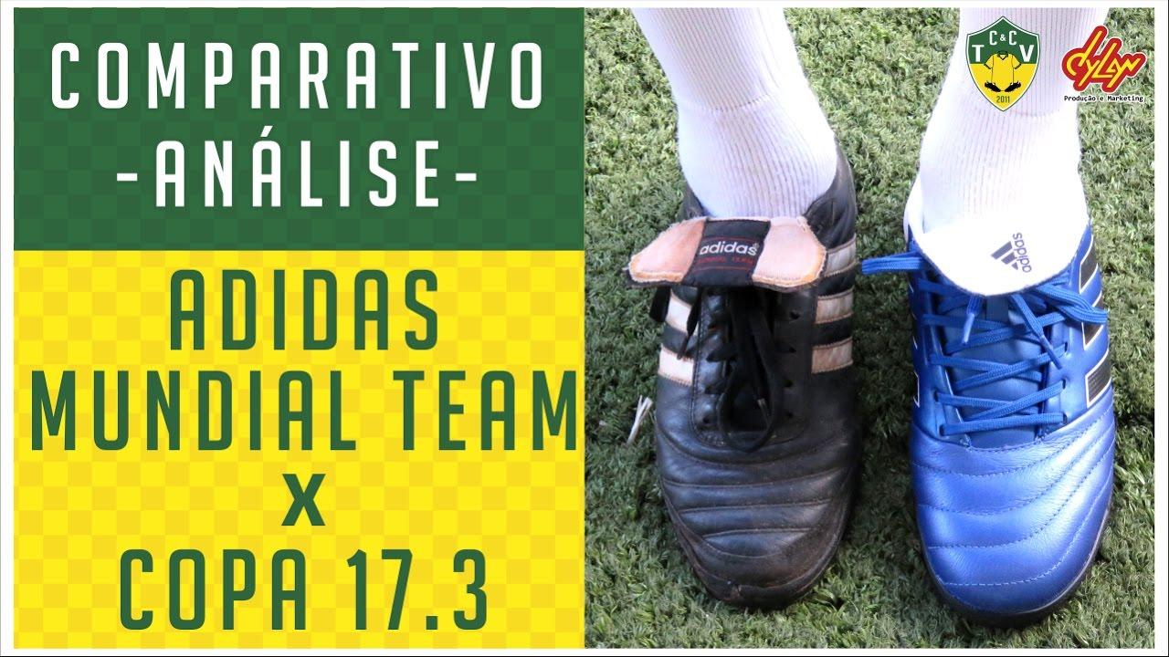 ADIDAS MUNDIAL TEAM x ADIDAS COPA 17.3 - COMPARATIVO - ANÁLISE - YouTube 25c9fbf6f00bf