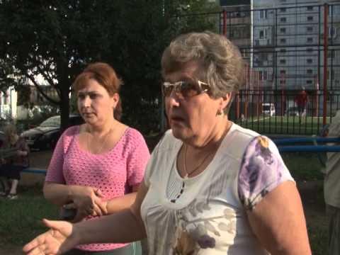 Улица Заозерная - встреча администрации с жителями