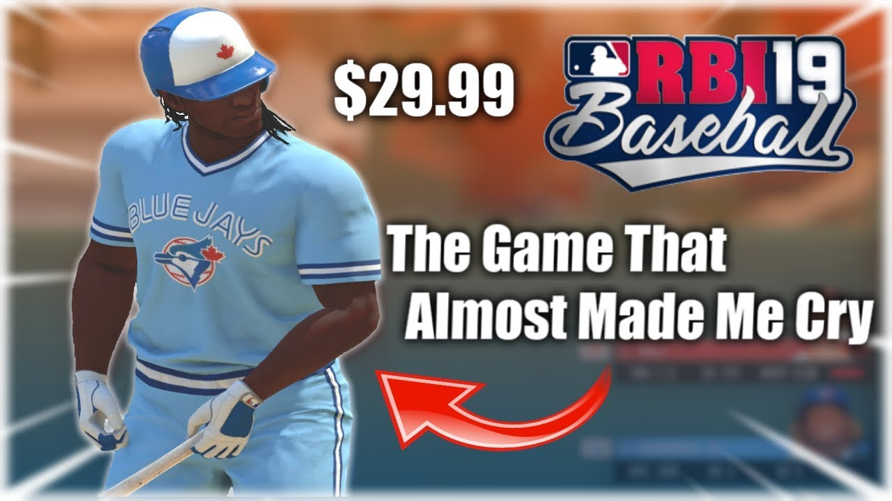 This Game Will Give MLB The Show Players Nightmares... RBI Baseball 19