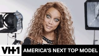 Tyra Banks Is Back & Shows Love To Her New Panel | America's Next Top Model (Season 24)