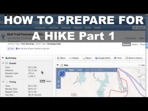 Garmin GPSMAP 62 - 1 How To Prepare for a Hike - Download Track File - Garmin Connect - GPSMAP 64