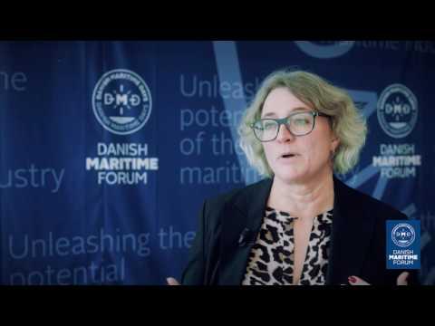 Snapshots from Danish Maritime Forum 2016 with Anne H. Steffensen,  CEO Danish Shipowners' Associati