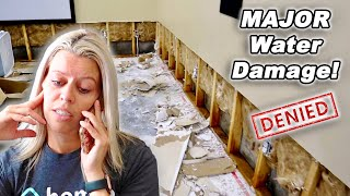 Flooded Basement Update! Insurance DENIED Claim of $20,000 DAMAGES!