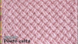 Punto diseño CELTA tejido a crochet / Tejiendo Perú thumbnail